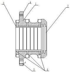 CN205989019U_一种空气锤锤杆导向套 专利基本信息(图1)