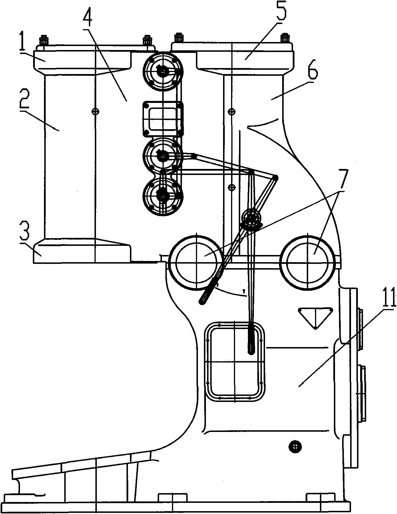 CN201669362U_全钢空气锤 专利基本信息(图1)