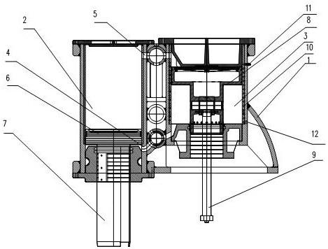 CN106077393A_一种高效风冷空气锤 专利基本信息(图1)