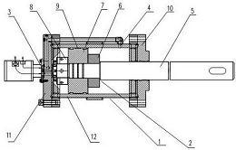 CN106050794A_一种锻造操作机机械臂的夹紧油缸总成 专利基本信息(图1)