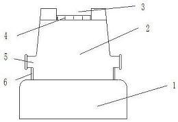 CN205989023U_一种用于锻钢的砧台 专利基本信息(图1)